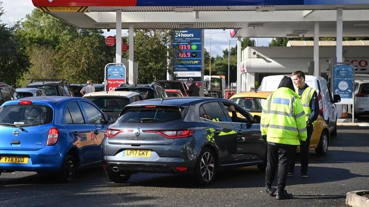 Kryzys paliwowy w Wielkiej Brytanii. Rząd wezwał wojsko