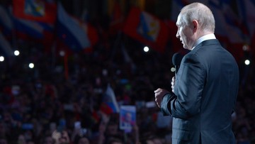 """Prezydent Putin o aneksji Krymu jako """"sprawiedliwości dziejowej"""". """"Przykład prawdziwej demokracji"""""""