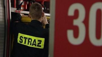 60-latek podpalił się i wszedł do starostwa powiatowego w Zamościu