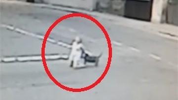 Wybiegł z bramy i przewrócił ją na ziemię. Agresywny pies zaatakował nastolatkę