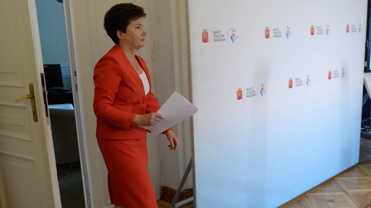 Gronkiewicz-Waltz: ratusz nie jest stroną w postępowaniu przed komisją weryfikacyjną