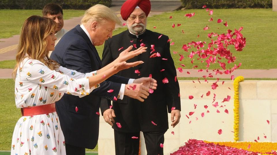Wizyta Donalda Trumpa w Indiach