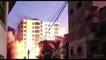 Runął wieżowiec trafiony izraelską rakietą. Islamski Dżihad zapowiada odwet