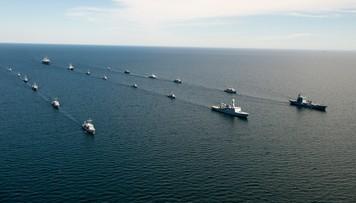 Rosyjskie okręty na Bałtyku. Trwają ćwiczenia Zapad-2017