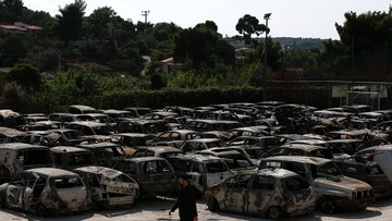 Premier Grecji: biorę na siebie polityczną odpowiedzialność za pożary