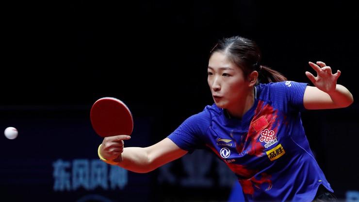 Tokio 2020: Mistrzyni świata w tenisie stołowym Liu Shiwen nie zagra w singlu