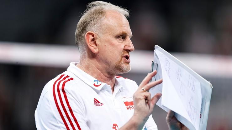 Reprezentacja Polski siatkarek w Czechach bez Jacka Nawrockiego