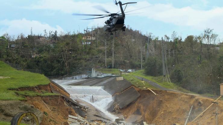 Rośnie bilans ofiar huraganu Maria na Portoryko. Ogromne straty