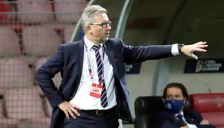 Jerzy Brzęczek: Cieszymy się ze zwycięstwa, bo w układzie tabeli to bardzo ważne