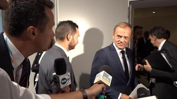 """Tusk odpowiada Dudzie: zmiany PiS przenoszą nas """"wstecz i na Wschód"""""""