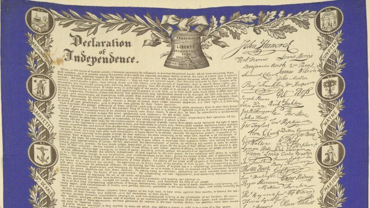 Facebook ocenzurował... Deklarację Niepodległości USA