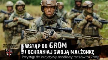"""""""Wstąp do GROM - ochraniaj swoją małżonkę"""". Trwa nabór do grup różańcowych"""