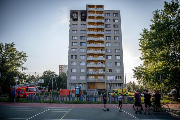 Pożar wieżowca w Czechach. Nie żyje 11 osób