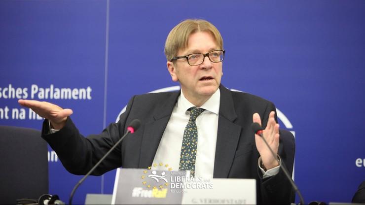 Były premier Belgii ostro o rządzie PiS: polski rząd wykonuje robotę za Putina