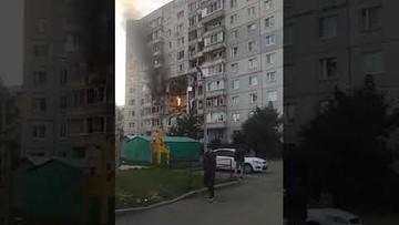 Wybuch gazu w Rosji. Dziecko pod gruzami