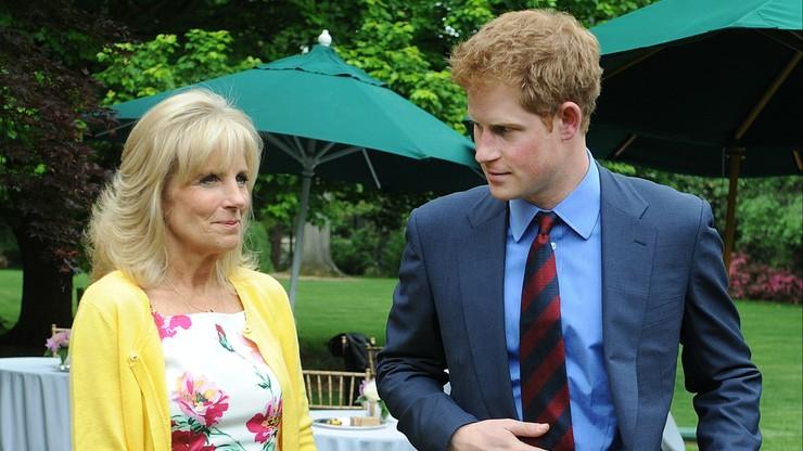 """Jill Biden przyjaźni się z księciem Harrym. """"Spędzili razem za dużo czasu"""""""