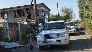 Rosyjskie MSZ: wybuch samochodu OBWE w Donbasie to prowokacja