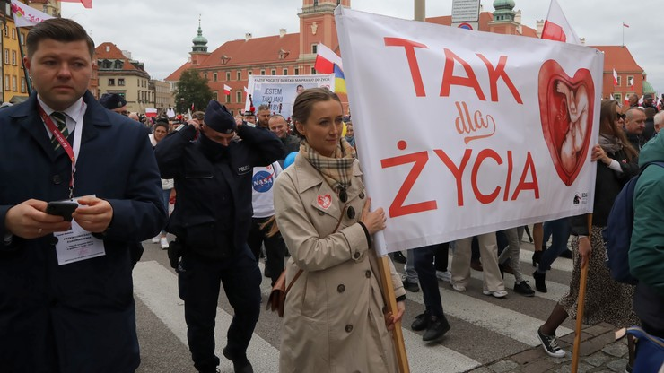 Warszawa. Zakończył się XVI Narodowy Marsz dla Życia i Rodziny