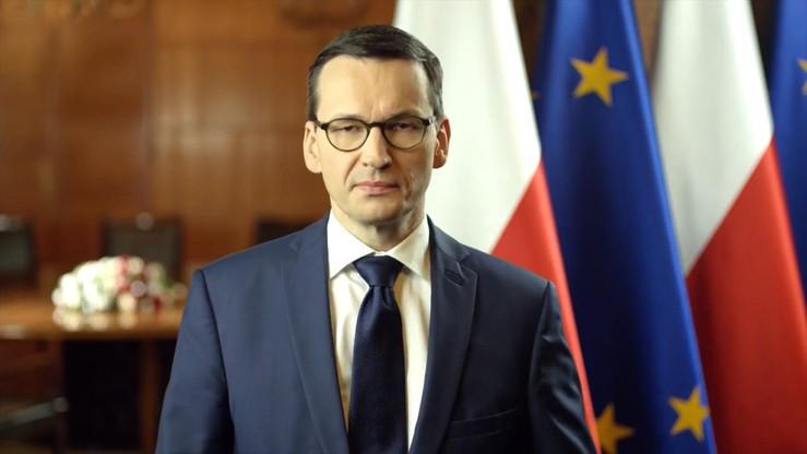 Opublikowano nowy film z oświadczeniem premiera Morawieckiego w języku angielskim