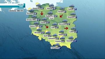 Prognoza pogody - sobota, 18 września - rano