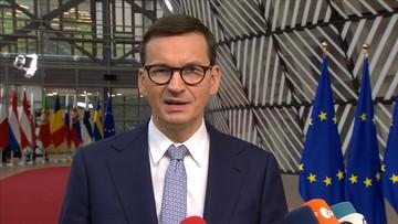 """Szczyt w Brukseli. """"Nie będziemy działać pod presją szantażu"""""""