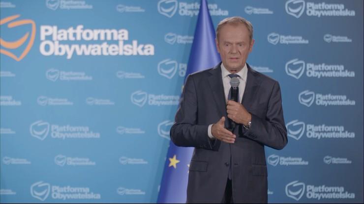 Donald Tusk o założeniach Polskiego Ładu dotyczących samorządów: grabież pieniędzy