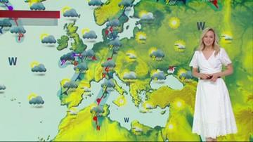 Prognoza pogody - poniedziałek, 21 czerwca - popołudnie