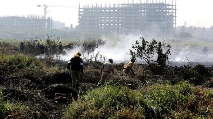 Jezioro w ogniu. Z pożarem walczy 5 tysięcy żołnierzy