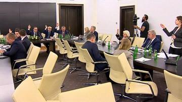 Senacka komisja za ustawą o wzmocnieniu nadzoru nad rynkiem finansowym i przejmowaniu banków