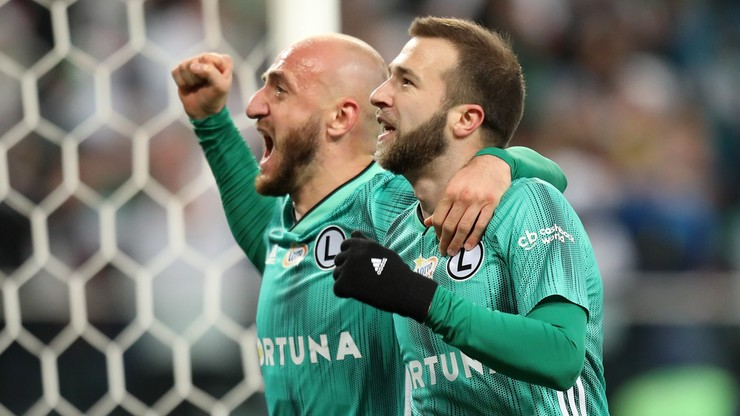 PKO Ekstraklasa: Legia pokonała Cracovię w meczu na szczycie