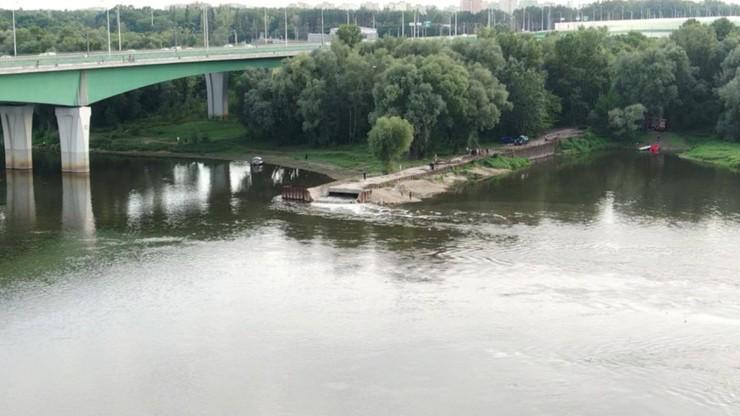 Trwa awaryjny zrzut fekaliów do Wisły w Warszawie.