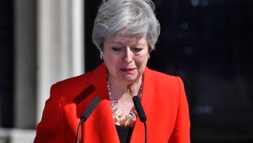Brytyjska premier płacze. Theresa May: królowa już wie o rezygnacji