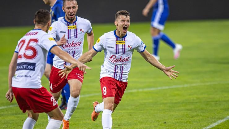 Fortuna 1 Liga: Porażka w hicie to nie chwała. Uratowany remis przez Podbeskidzie Bielsko-Biała!