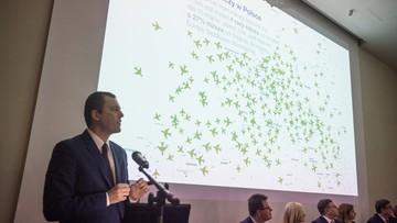 """Rząd przyjął uchwałę ws. Centralnego Portu Komunikacyjnego. Ma być """"jednym z największych przesiadkowych portów lotniczych w Europie"""""""