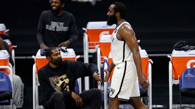 NBA: Brooklyn Nets odrobili ponad dwudziestopunktową stratę! James Harden bohaterem