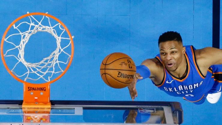 NBA: Ósma z rzędu wygrana Oklahoma City Thunder