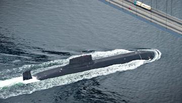 Największy na świecie podwodny krążownik atomowy płynie przez Bałtyk. Ekspert: wydarzenie bez precedensu