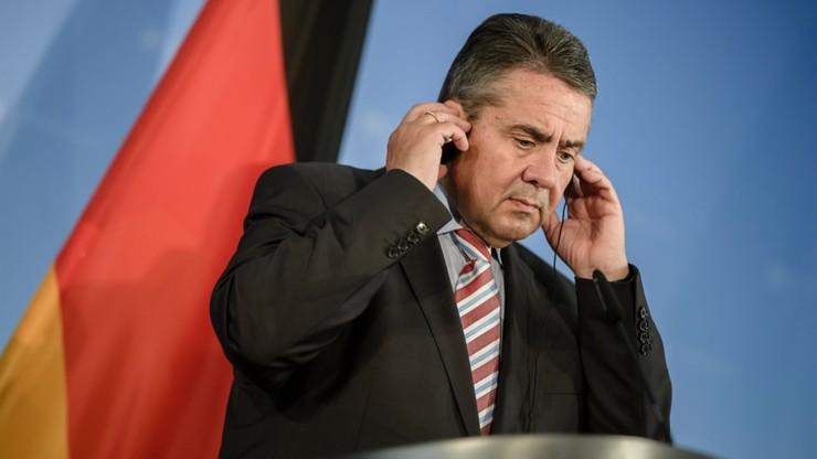 Szef niemieckiego MSZ: w USA stratedzy planują antyniemiecką politykę