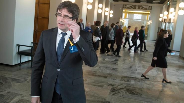 Europejski nakaz aresztowania byłego premiera Katalonii Puigdemonta i jego czterech ministrów