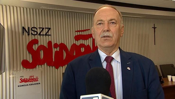 """Proksa pozostaje przewodniczącym oświatowej """"Solidarności"""""""