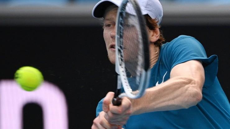 ATP w Melbourne: Hubert Hurkacz i Jannik Sinner nie zagrają o półfinał
