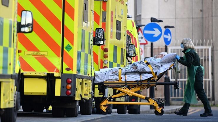 """Trudna sytuacja w Londynie. """"Epidemia wymknęła się spod kontroli"""""""