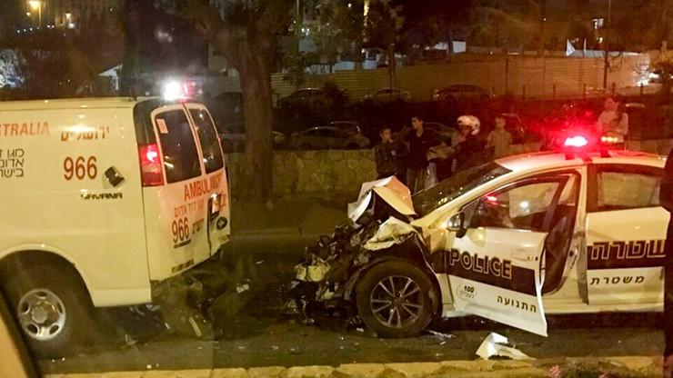 Kolizja aut z kolumny polskiego rządu. Błaszczak: śledztwo prowadzi strona izraelska