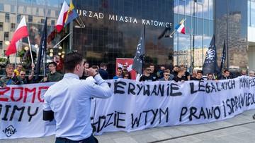 """Sąd Apelacyjny umorzył postępowanie ws. manifestacji narodowców w Katowicach. """"Marsz już się odbył"""""""