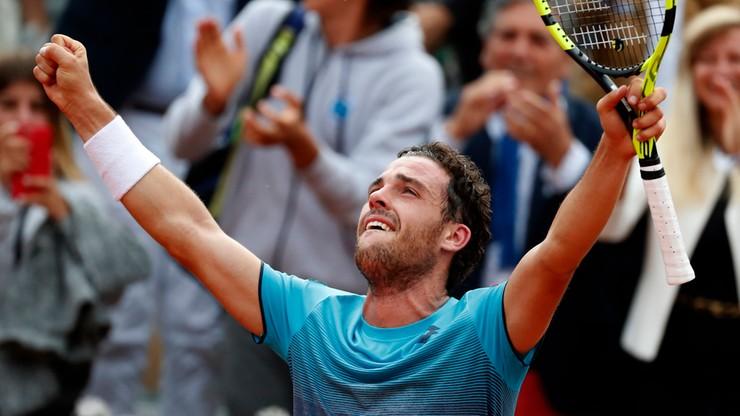 French Open. Włoskie media: Wyczyn Cecchinato jest imponujący