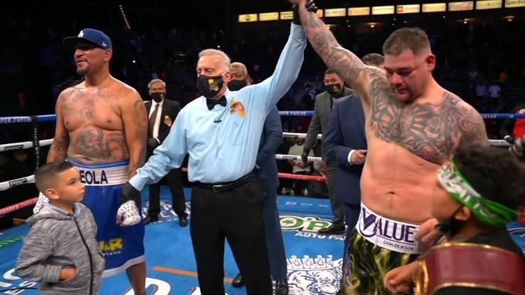 Andy Ruiz Jr wypunktował Chrisa Arreolę w pojedynku wagi ciężkiej