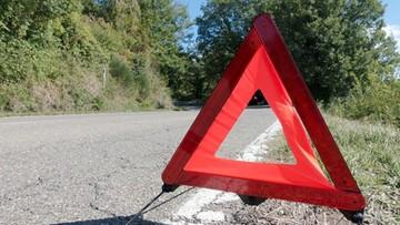 Tragedia na Mazowszu. Motocyklista wjechał w nastolatki