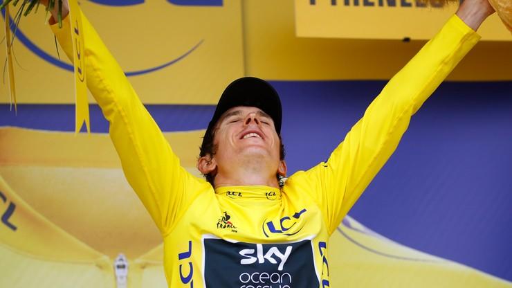 Tour de France: Cardiff zmienia herb na cześć Thomasa