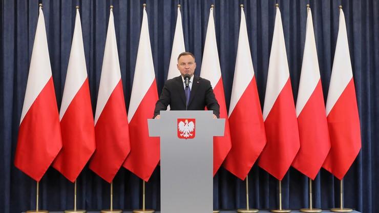 Prezydent Duda wskazał swoje największe sukcesy i porażki