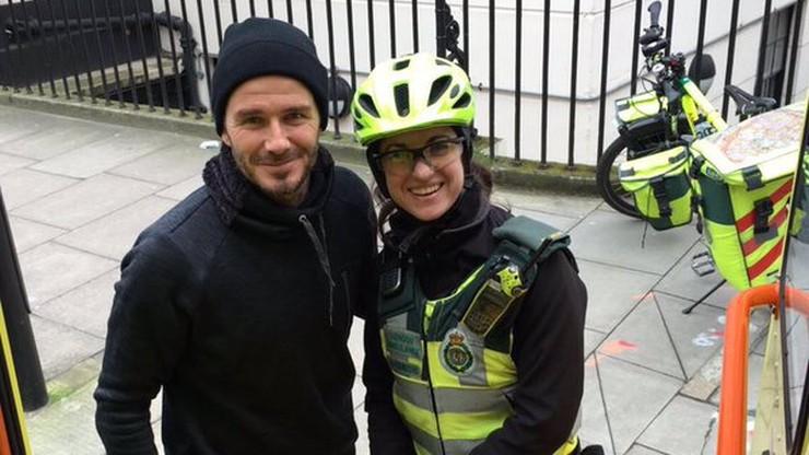 David Beckham - gwiazdor piękny, bogaty i... sympatyczny